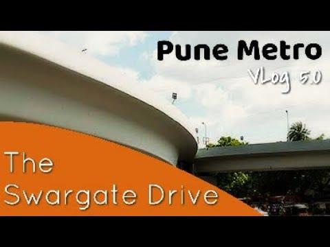 Pune Metro Rail Progress- Vlog Part 5 - The Swargate Drive