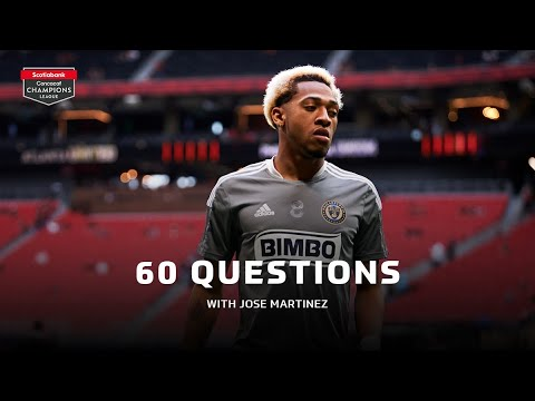 60 Questions with Philadelphia Union's Jose Martinez | #SCCL21