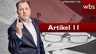 Artikel 11 - Mindestens genau so schlimm wie Artikel 13? | Rechtsanwalt Christian Solmecke