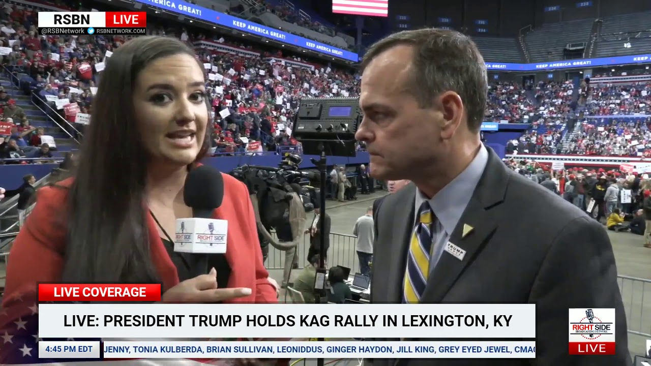 RSBN interview with President Donald J. Trump 2020 Campaign Comms Director Tim Murtaugh