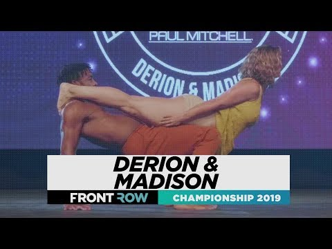 Derion & Madison  | FRONTROW | World Of Dance Championship 2019 | #WODCHAMPS19