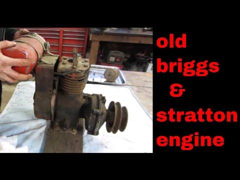 Will It Run? $5 antique Briggs engine.