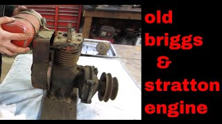 Will It Run? $5 antique Briggs engine.