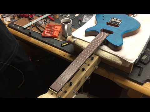 How To Position A Bridge On An Electric Guitar Body