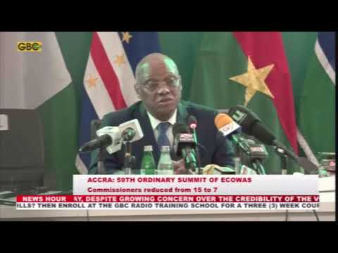 ECOWAS Commissioners reduced to 7