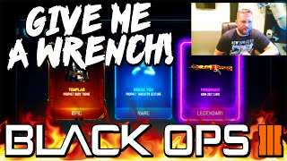 WILL I GET A WRENCH THIS YEAR? - Black Ops 3 50% OFF RARE SUPPLY DROP OPENING!