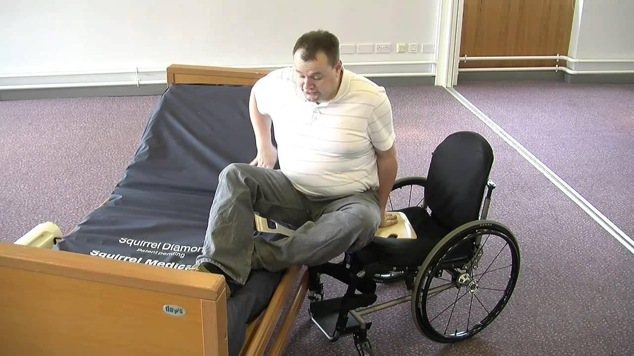 Safe Wheelchair Transfer Slide Board Youtube