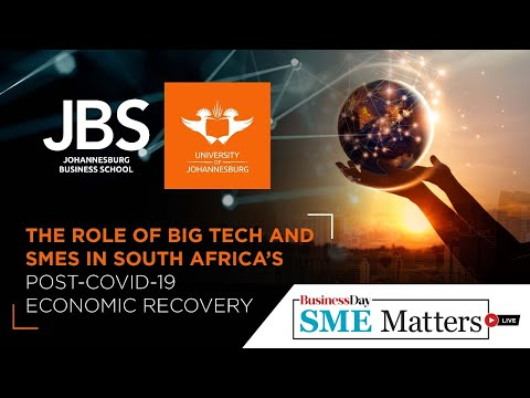 The role of big tech and SMEs in South Africa's post-COVID-19 economic recovery