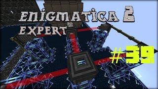 "Minecraft 1.12.2 Enigmatica 2 Expert Mode Skyblock #39 ""Rzeczy"" do fusion reactor"