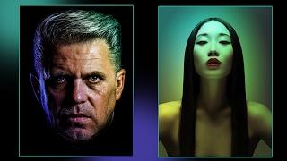 Эффект цветной подсветки в Фотошоп. Цветное свечение и контровый свет в Фотошопе