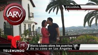 Mario López muestra la intimidad de su hogar | Al Rojo Vivo | Telemundo