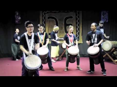 Djembe Pyramid of Rhythm (TTM Singapore) 2011