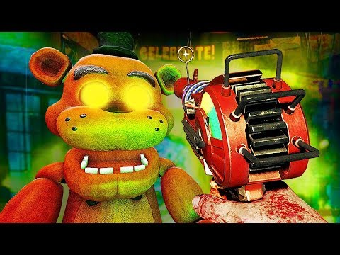 FIVE NIGHTS AT FREDDY'S ZOMBIES! (jumpscare Warning...)