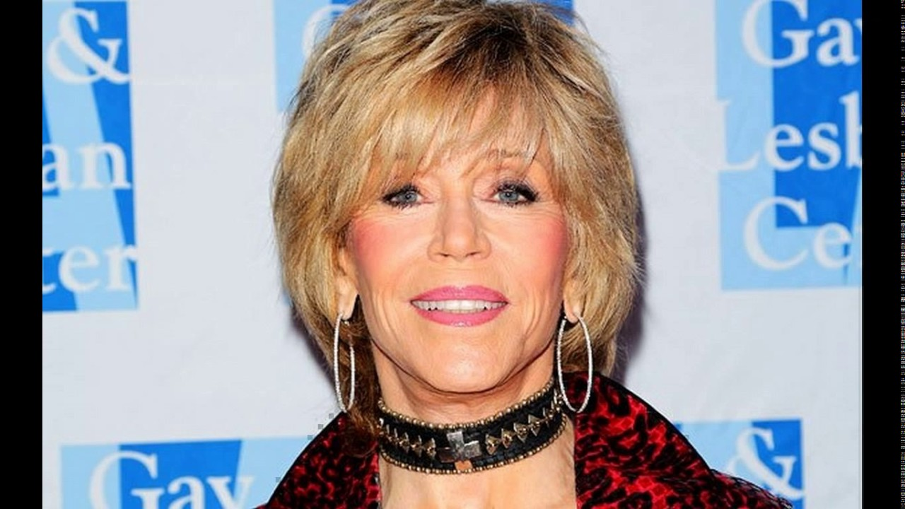 Jane Fonda Short Haircuts Youtube