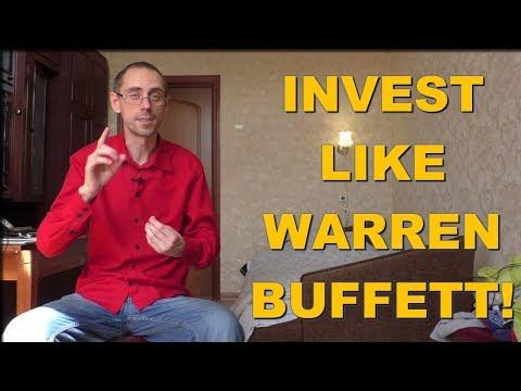 Here's How To Invest In Stock Like Warren Buffett! - Buffett's Investing Strategy Revealed!