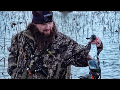 Flooded CORN and Snow Day Duck Hunting (With Blackbelt Waterfowl)