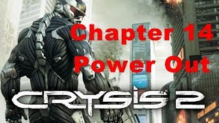 Crysis 2 1080 P,60 FPS  %100 Rapid  Walkthrough  Part 14 Power Out