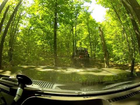 GoPro Dash Cam - Green Mountain Extreme OFF-ROAD with Rock Crawlers - Unedited