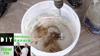 How to Mix Skip Trowel Texture