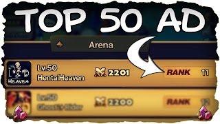 SUMMONERS WAR 💥 TOP 50: Arena Verteidigung - AD! ★ (Deutsch / German)   xHeaven