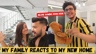 My FAMILY reacts to my NEW HOME *SHOCKING*