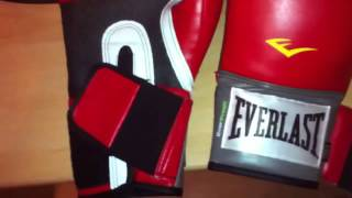 Everlast pro style training gloves review