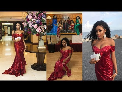 affordable-long-mermaid-off-the-shoulder-sequined-red-prom-dress-with-slit-|-millybridal-review