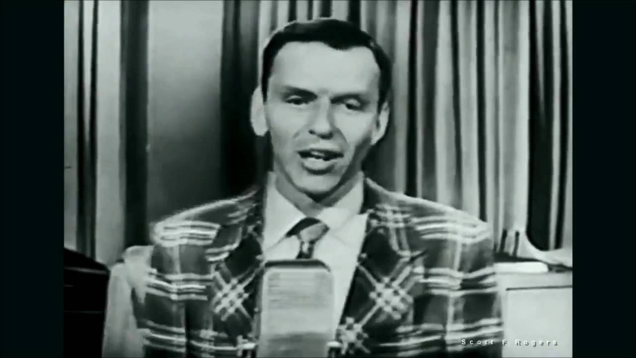 """Frank Sinatra  """"I Could Write a Book"""""""