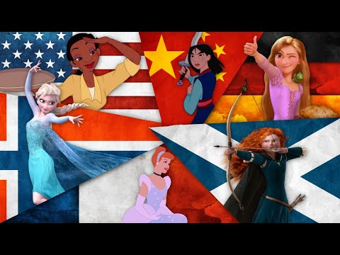 Disney Princesses In Their Native Languages