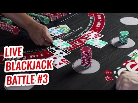LIVE BLACKJACK Battle $1,500 Buy-IN - David Vs. Timmy Ep.3