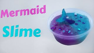 DIY Mermaid slime