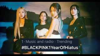 BLINKs trend #BLACKPINK1YearOfHiatus to demand answers from YG Entertainment