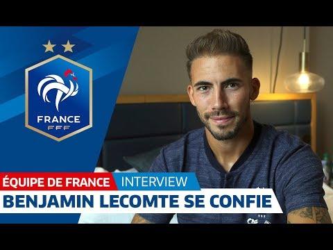 """Equipe de France , Benjamin Lecomte : """"Enormément de fierté"""" I FFF 2018"""