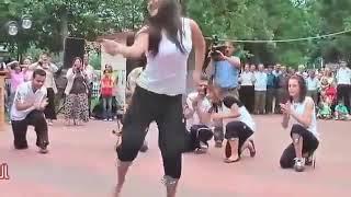 Modern nagin dance on the song brazil...