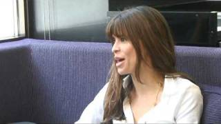 Lisa B interview in the May Fair Hotel Bar