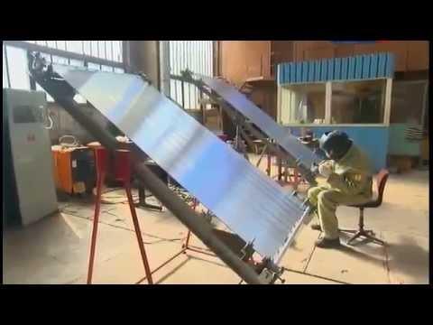 Абсорбер солнечного коллектора своими руками