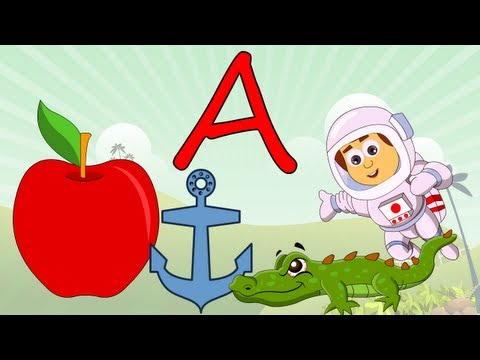 Learn About The Letter A - Preschool Activity