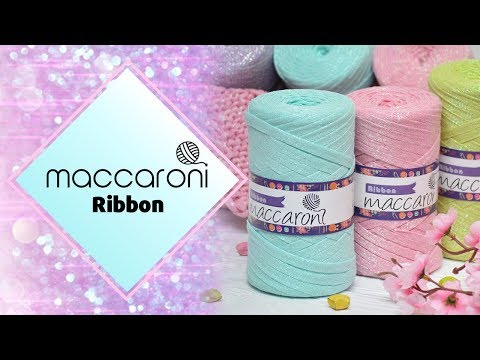 Maccaroni Ribbon / Макарони Риббон. Обзор и отзыв о трикотажной пряже с люрексом + КОНКУРС!