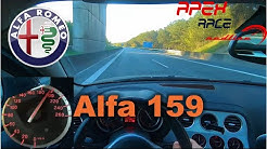 // 🚗 2007 Alfa Romeo 159 2.4 JTDM | POV | Autobahn | High Speed