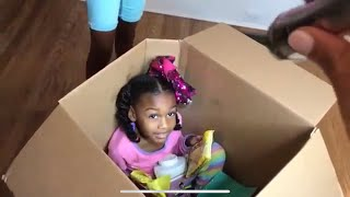 Box Fort Prank Gone Wrong! I Mailed Myself To JoJo Siwa