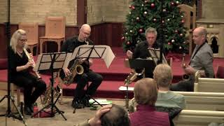 """""""Cool"""" Leonard Bernstein's West Side Story performed by the Toronto Sax Quartet"""