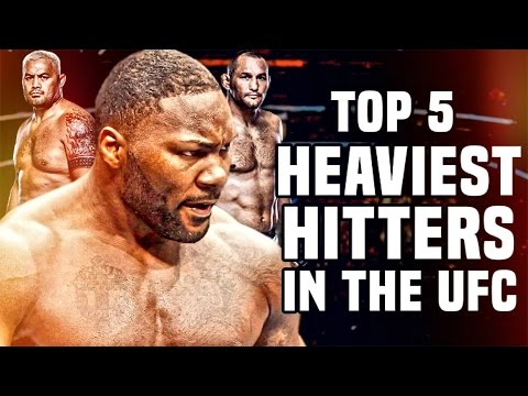 Top 5: Heaviest Hitters In The UFC