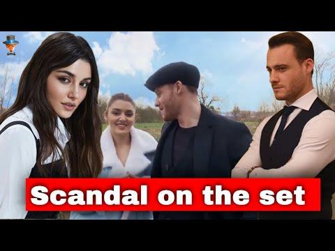 Hande Erçel and Kerem Bürsin: a scandal on the set?