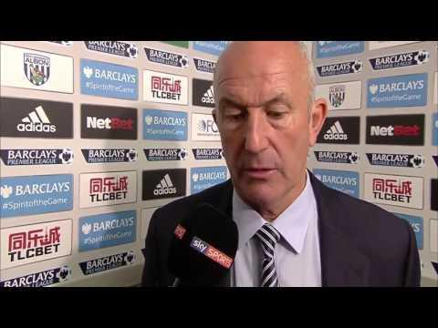 Tony Pulis Post Match Interview - #WBA vs #Everton 2-3
