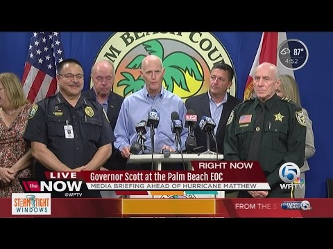 Governor declaring a State of Emergency