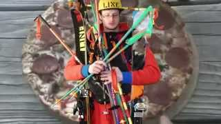 Line 2015 Pointy Sticks with Grips! - Who Said Anything About Ski Poles?