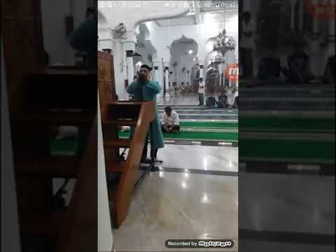 Aceh Baiturrahman Camiinde Ezan Hafız Syeikh Husein Saka