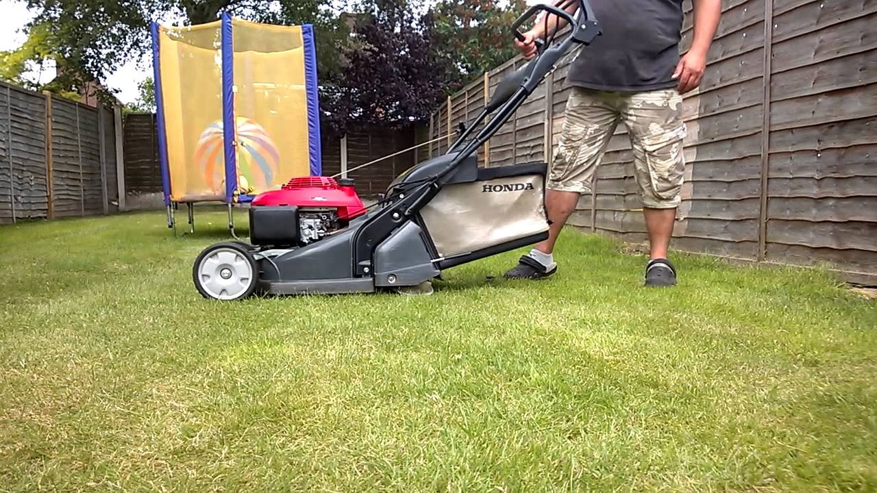 petrol lawnmower honda hrx426c qxe self propelled rear. Black Bedroom Furniture Sets. Home Design Ideas