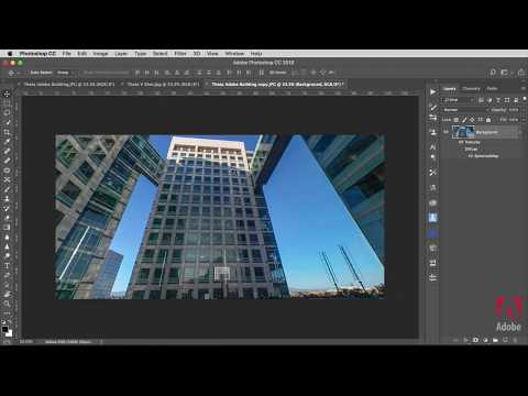 Edit 360 Degree Panoramic Images in Photoshop CC