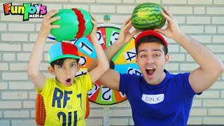 Playing Watermelon Splash Game with Jason